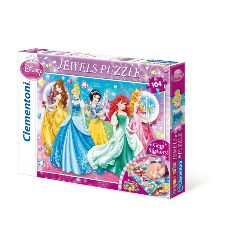 Jewels Puzzle 104<br> Teile Princess<br>Twinkled Ladies K