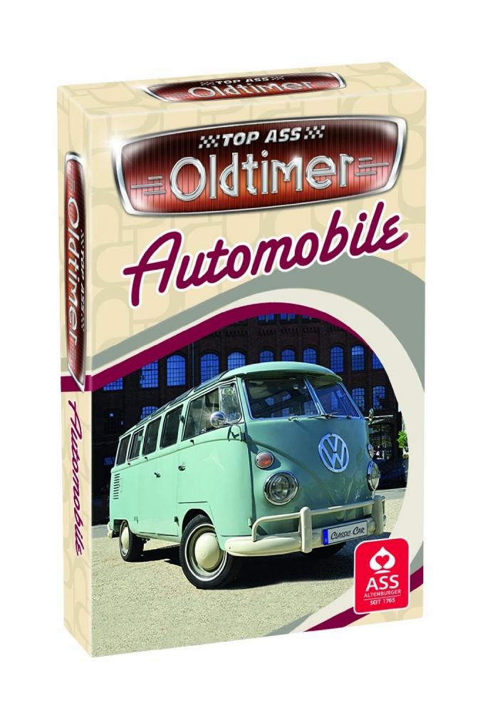 ass - Top Odtimer<br> - Automobile -<br>card game (VE 1