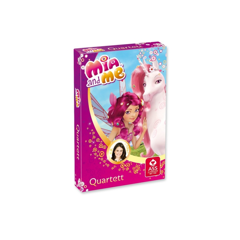 Mia and Me Card<br> Game - Quartet (VE<br>10)