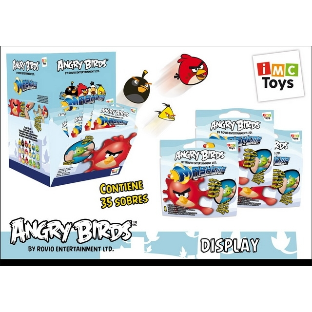 angry birds mashems folienbeutel blau 35 st ck. Black Bedroom Furniture Sets. Home Design Ideas