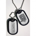 Metal Gear Solid Dogtag Foxhound Logo (Halskette)