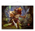 Dota 2 Wallscroll Bounty Hunter