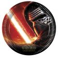 Star Wars - The Force Awakens Pappteller groß 23cm (8Stück)