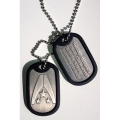 Mass Effect 3 Metall Dog Tags / Halskette: Alliance Logo