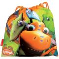 Dino Zug / Dinosaur Train - Sportbeutel / Pausenbeutel Orange