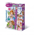Sofia the First - Double Fun Puzzle - 30 Teile