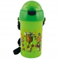 Turtles - Trinkhalmflasche - 400 ml