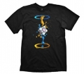 Portal 2 T-Shirt Gel Splatter
