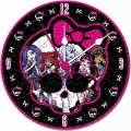 Monster High - Puzzleuhr - 96 Teile