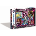 Monster High - Glitter Freakly Flaws - 200 Teile Puzzle