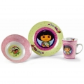 Dora 3-teiliges Kinder-Set Klein