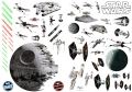 STAR WARS - Sticker / Aufkleber – Battleships