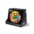 Beatles - 212 Teile LP Collection rund - (Display mit 16 Puzzle)