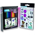 Monster High Mini Skizzenblock mit Stiften