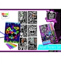 Monster High Samt-Poster Set