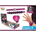 Monster High 3D Armband (25 St. / Tray)