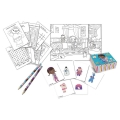 Doc McStuffin - Activity Set (4 Bleistifte, 4 Sticker-Boxen, 4 Hefte, 4 Sticker-Bögen)
