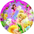 Fairies Springtime - Pappteller medium 20cm (8 Stück)