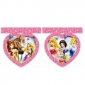 Princess & Animals - Flaggen-Banner gestanzt