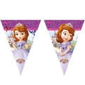 Sofia The First - Flaggen-Banner dreieckig (9 Flaggen)