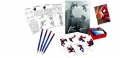 The Amazing Spiderman 2 - Activity-Set (4Bleistifte, 4 Sticker-Boxen, 4 Sticker-Bögen & 4 Hefte)